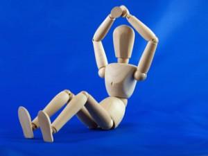 Der menschliche Bewegungsapparat ist sehr vielseitig.